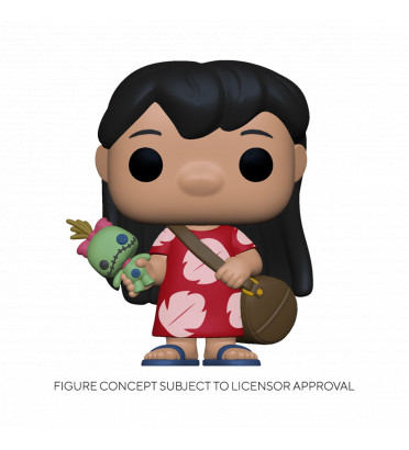 LILO WITH SCRUMP / LILO ET STITCH / FIGURINE FUNKO POP
