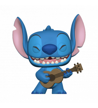 STITCH WITH UKELELE / LILO ET STITCH / FIGURINE FUNKO POP