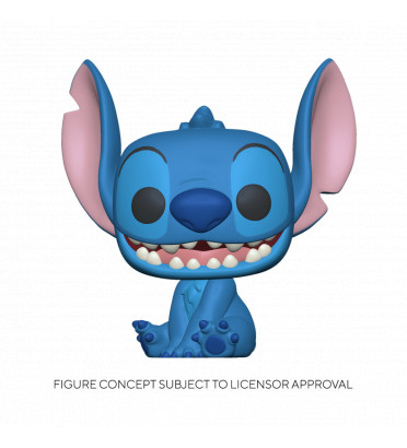 SMILING SEATED STITCH / LILO ET STITCH / FIGURINE FUNKO POP