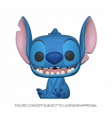 SMILING SEATED STITCH SUPER OVERSIZED / LILO ET STITCH / FIGURINE FUNKO POP
