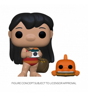 LILO WITH PUDGE / LILO ET STITCH / FIGURINE FUNKO POP