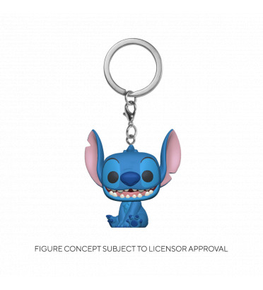 SMILING SEATED STITCH / LILO ET STITCH / FUNKO POCKET POP