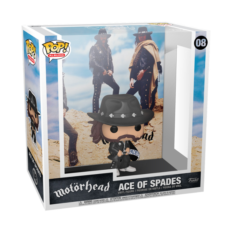 MOTORHEAD / ACE OF SPADES / FIGURINE FUNKO POP