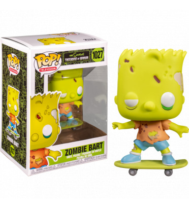 ZOMBIE BART / LES SIMPSONS TREEHOUSE OF HORROR / FIGURINE FUNKO POP