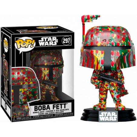 BOBA FETT FUTURA WITH POP PROTECTOR / STAR WARS / FIGURINE FUNKO POP