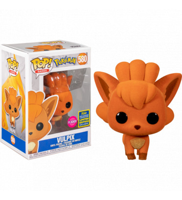 VULPIX FLOCKED / POKEMON / FIGURINE FUNKO POP / EXCLUSIVE SDCC 2020