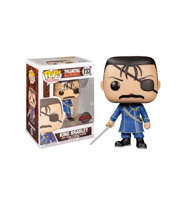 KING BRADLEY / FULLMETAL ALCHEMIST / FIGURINE FUNKO POP / EXCLUSIVE SPECIAL EDITION