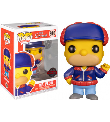 MR PLOW / LES SIMPSONS / FIGURINE FUNKO POP / EXCLUSIVE SPECIAL EDITION