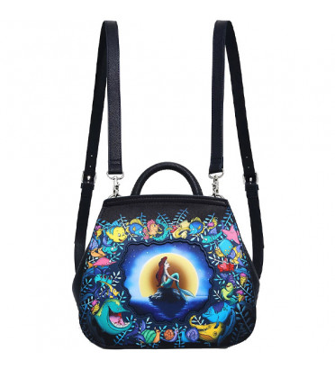 SAC A DOS CONVERTIBLE UNDER THE SEA MOONLIGHT / ARIEL / LOUNGEFLY