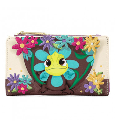 PORTEFEUILLE PASCAL FLOWER / RAIPONCE / LOUNGEFLY
