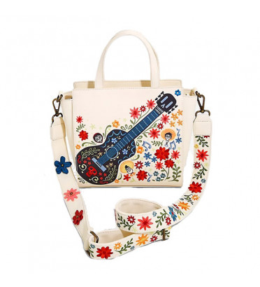SAC A MAIN GUITARE BRODERIE / COCO / LOUNGEFLY