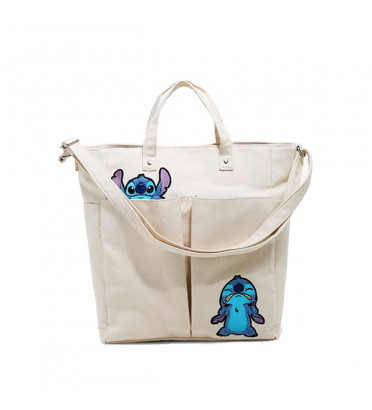 TOTE BAG TISSU STITCH / LILO ET STITCH / LOUNGEFLY