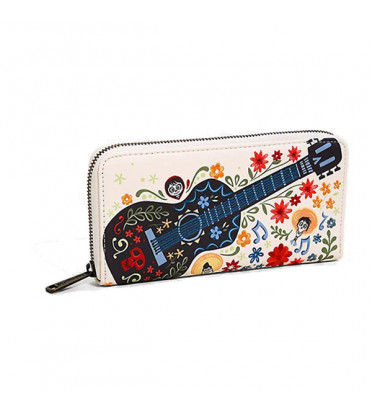 PORTEFEUILLE GUITARE BRODERIE / COCO / LOUNGEFLY