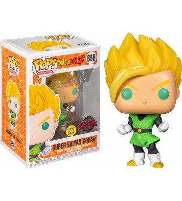 SUPER SAIYAN GOHAN / DRAGON BALL Z / FIGURINE FUNKO POP / EXCLUSIVE SPECIAL EDITION / GITD
