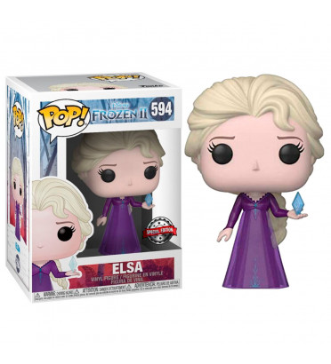 ELSA IN NIGHTGOWN / LA REINE DES NEIGES / FIGURINE FUNKO POP / EXCLUSIVE SPECIAL EDITION