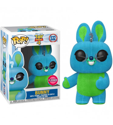 BUNNY / TOY STORY / FIGURINE FUNKO POP / FLOCKED