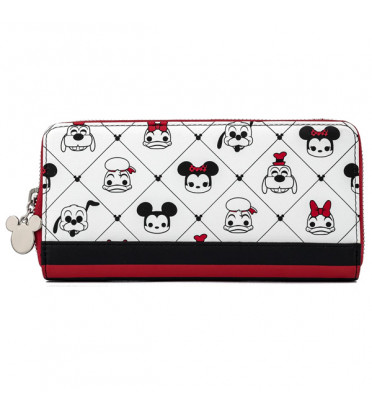 PORTEFEUILLE MICKEY AND FRIENDS SENSATIONAL / MICKEY MOUSE / LOUNGEFLY