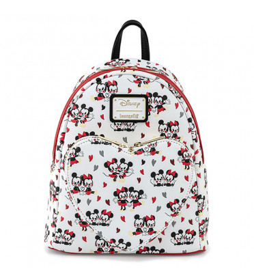 MINI SAC DOS MICKEY ET MINNIE MOUSE HEART / MICKEY MOUSE / LOUNGEFLY