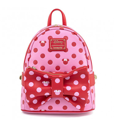 MINI SAC DOS MINNIE PINK BOW / MICKEY MOUSE / LOUNGEFLY