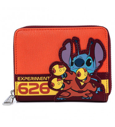 PORTEFEUILLE STITCH 626 / LILO ET STITCH / LOUNGEFLY