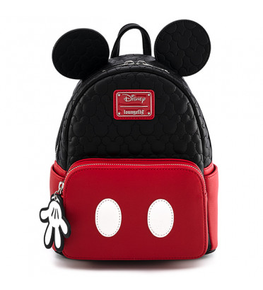 MINI SAC DOS MICKEY QUILTED OH BOY / MICKEY MOUSE / LOUNGEFLY