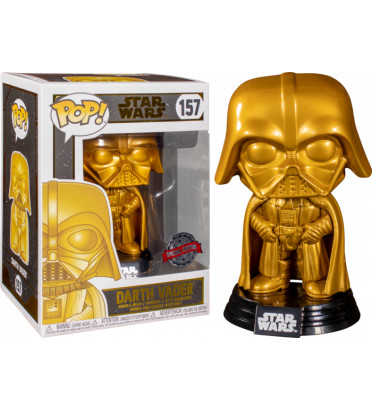 DARK VADOR GOLD / STAR WARS / FIGURINE FUNKO POP / EXCLUSIVE SPECIAL EDITION