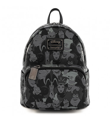 MINI SAC A DOS VILLAINS BLACK AND WHITE / DISNEY / LOUNGEFLY