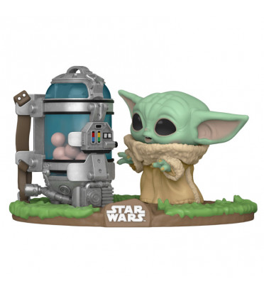 THE CHILD (BEBE YODA) WITH EGG CANISTER / STAR WARS THE MANDALORIAN / FIGURINE FUNKO POP