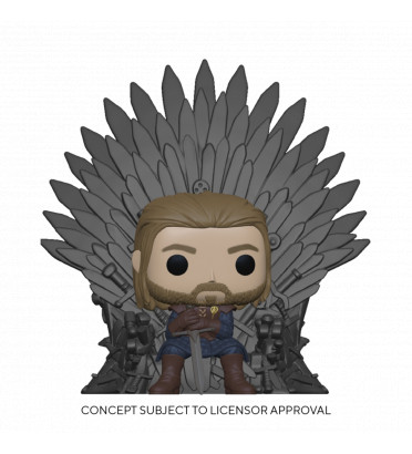 NED STARK ON THRONE / GAME OF THRONES / FIGURINE FUNKO POP