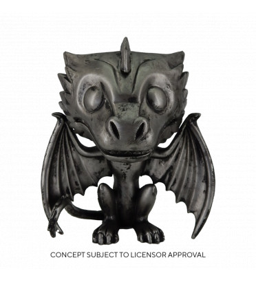 DROGON NOIRE / GAME OF THRONES / FIGURINE FUNKO POP