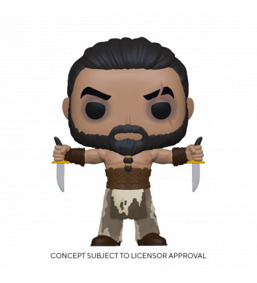 KHAL DROGO WITH DAGGERS / GAME OF THRONES / FIGURINE FUNKO POP