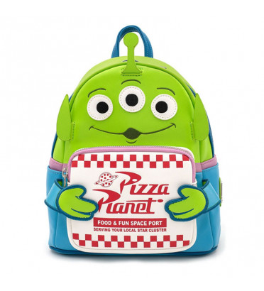 MINI SAC A DOS ALIEN PIZZA PLANET / TOY STORY / LOUNGEFLY