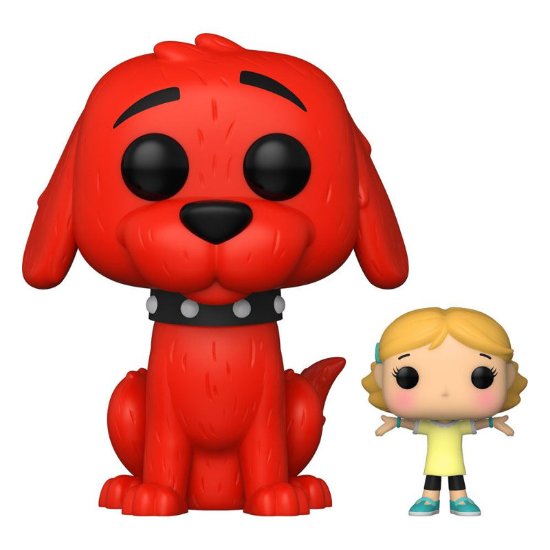 CLIFFORD WITH EMILY ELIZABETH / CLIFFORD LE GROS CHIEN ROUGE / FIGURINE FUNKO POP