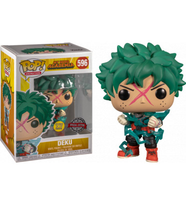 DEKU / MY HERO ACADEMIA / FIGURINE FUNKO POP / EXCLUSIVE SPECIAL EDITION / GITD