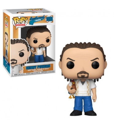 KENNY POWERS IN CORNROWS / EASTBOUND AND DOWN / FIGURINE FUNKO POP