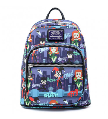 MINI SAC A DOS LADIES OF DC / DC COMICS / LOUNGEFLY