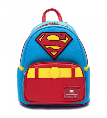 MINI SAC A DOS SUPERMAN COSPLAY / SUPERMAN / LOUNGEFLY