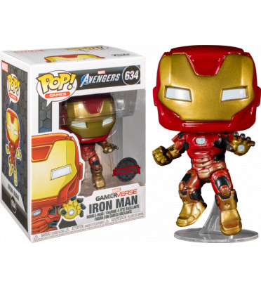 IRON MAN SPACE SUIT / MARVEL AVENGERS / FIGURINE FUNKO POP / EXCLUSIVE SPECIAL EDITION
