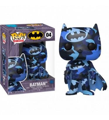 BATMAN ARTIST SERIE BLACK BLUE WITH PROTECTOR CASE / BATMAN / FIGURINE FUNKO POP