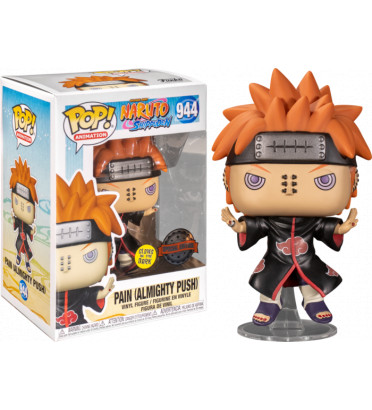 PAIN ALLMIGHTY PUSH / NARUTO / FIGURINE FUNKO POP / EXCLUSIVE SPECIAL EDITION / GITD