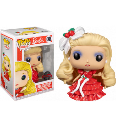 HOLIDAY BARBIE 1988 / BARBIE / FIGURINE FUNKO POP / EXCLUSIVE SPECIAL EDITION