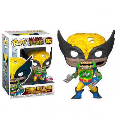 ZOMBIE WOLVERINE SUPER OVERSIZED / MARVEL ZOMBIES / FIGURINE FUNKO POP / EXCLUSIVE SPECIAL EDITION