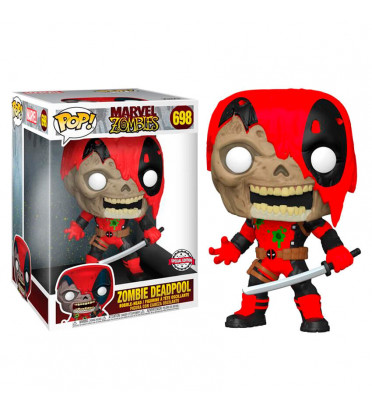 ZOMBIE DEADPOOL SUPER OVERSIZED / MARVEL ZOMBIES / FIGURINE FUNKO POP / EXCLUSIVE SPECIAL EDITION