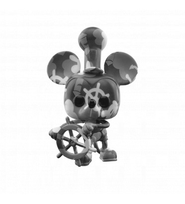 STEAMBOAT MICKEY ARTIST SERIES WITH CASE PROTECTOR / MICKEY MOUSE / FIGURINE FUNKO POP / EXCLUSIVE SPECIAL EDITON