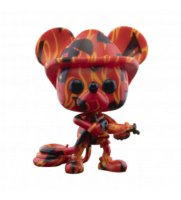 FIREFIGHTER MICKEY ARTIST SERIES WITH CASE PROTECTOR / MICKEY MOUSE / FIGURINE FUNKO POP / EXCLUSIVE SPECIAL EDITON