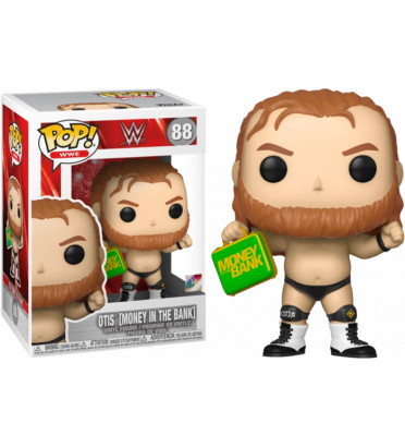 OTIS MONEY IN THE BANK / WWE / FIGURINE FUNKO POP
