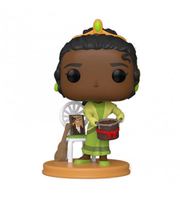 TIANA WITH GUMBO POT / ULTIMATE PRINCESS / FIGURINE FUNKO POP / EXCLUSIVE SPECIAL EDITION