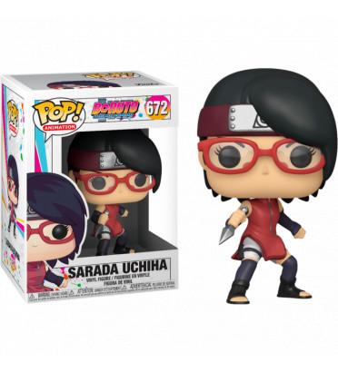 SARADA UCHIHA / BORUTO NARUTO NEXT GENERATION / FIGURINE FUNKO POP