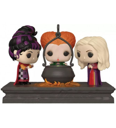 THE SANDERSON SISTERS / HOCUS POCUS MOVIE MOMENTS / FIGURINE FUNKO POP / EXCLUSIVE SPECIAL EDITION