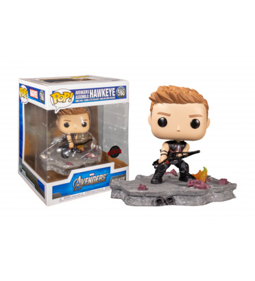 AVENGERS ASSEMBLE HAWKEYE / AVENGERS / FIGURINE FUNKO POP / EXCLUSIVE SPECIAL EDITION